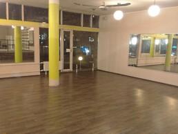 Wubb.berlin leergeräumtes Fitnessstudio nach einer Geschaeftsaufloesung in Berlin Spandau